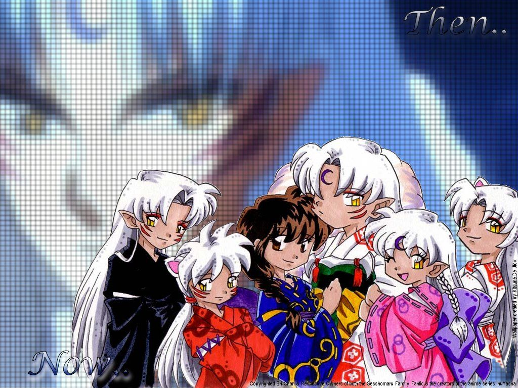 top sesshomaru and rin chibi wallpapers